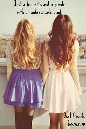 best•friends•forever more like sisters•forever ❤️ Hair Does, Best Friends, Summer Hair, Bestfriends, Long Hair Dos, Bff,...