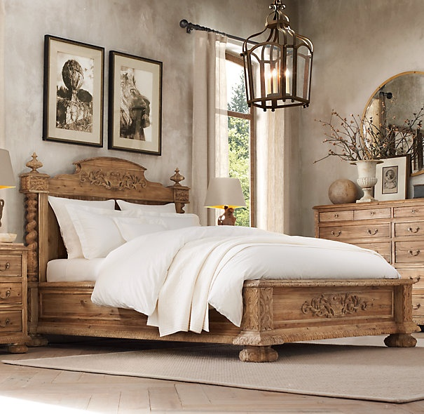 Restoration Hardware French Empire Bed
