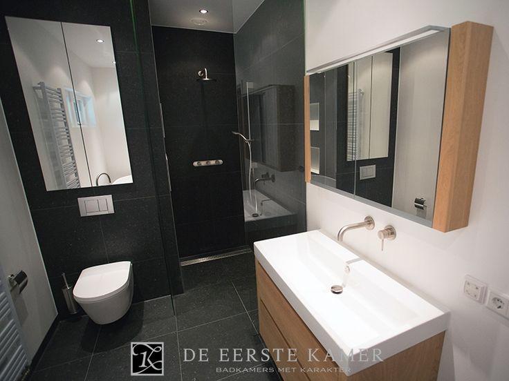 De eerste kamer als badkamerinspiratie meer foto s van onze badkamers vindt u op www - Kamer van rustieke chic badkamer ...