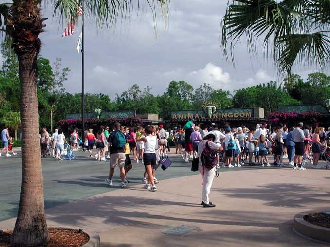 """フロリダ州オーランドの""""アニマル・キングダム""""(Disney's Animal Kingdom Theme Park)です(2001年5月23日撮影)."""