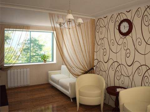 Дизайн комнаты разделение на зоны