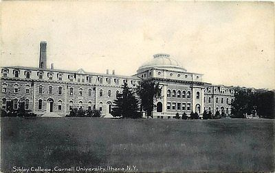 Ithaca New York NY 1908 Sibley College Engineering Cornell University Postcard Ithaca New York NY Circa 1908 Sibley College Engineering building at Cornell University. Used Rotograph antique vintage p
