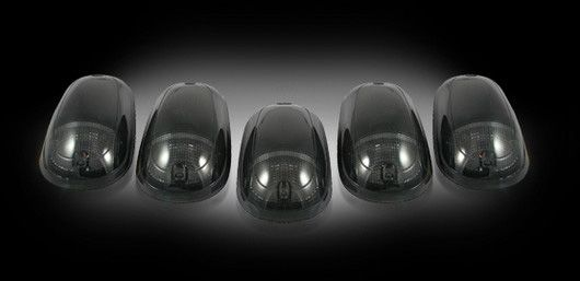 Dodge Ram 2500 & 3500 Heavy-Duty 2003-2012 SMOKED LED Cab Lights (5 Piece set)