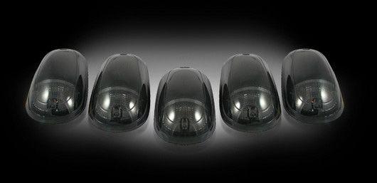 Dodge Ram 2500 & 3500 Heavy-Duty 2003-2012 SMOKED LED Cab Lights (5 Piece set)