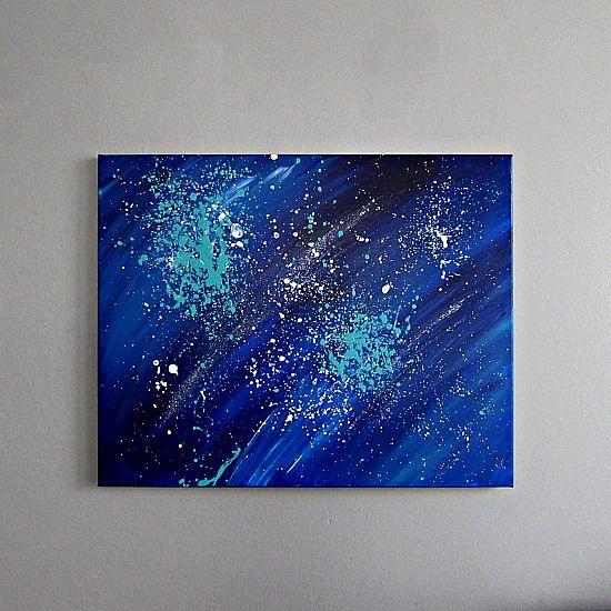 DIY Celestial Style Painting