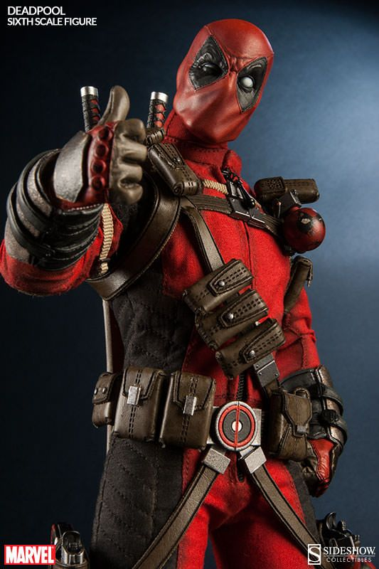 Deadpool gets a Fourth Wall breaking Sideshow Collectibles action figure
