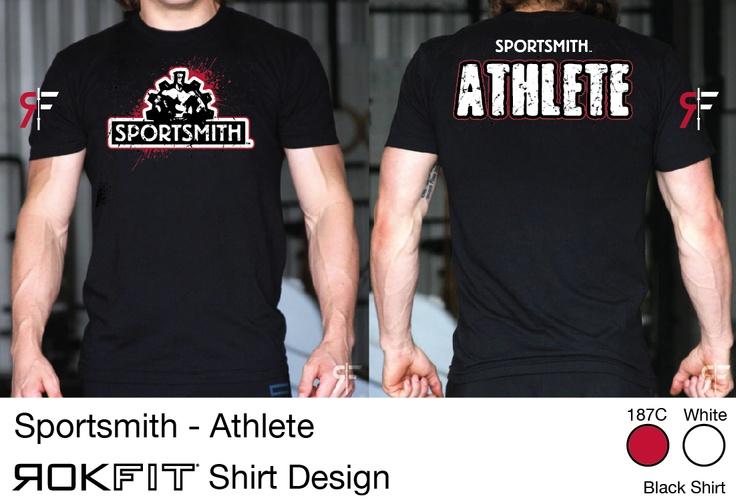 Sportsmith tshirt designed by ROKFIT