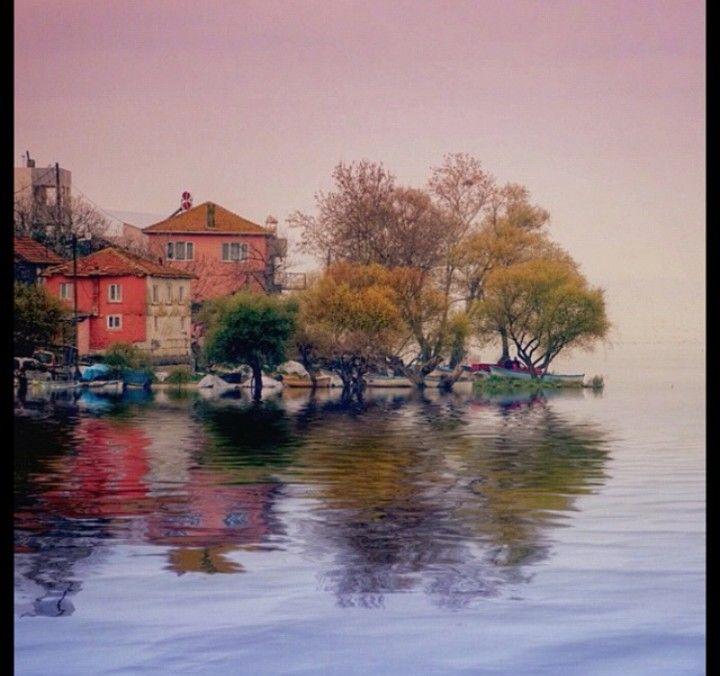 Gölyazı lake - Bursa, TURKEY.