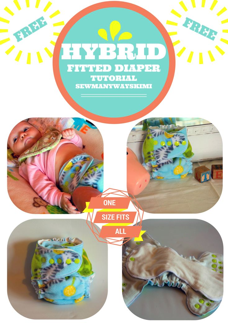 #FREE #VIDEO #TUTORIAL #HYBRID #FITTED #DIAPER #EASY #ONE #SIZE #FITS #ALL how to diy do it yourself tutorial cloth diaper cheap save money easy free