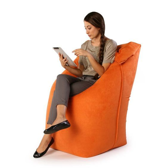 Jaxx Solo Orange Now Featured On Fab I Cool Chair For Nesting
