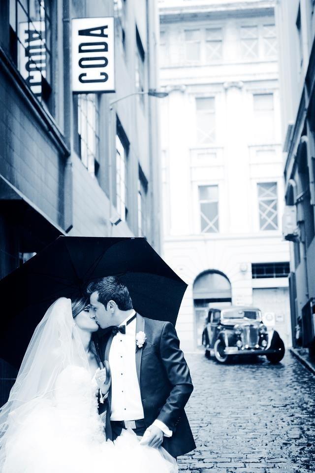Classic Wedding Cars - Melbourne lane Way By Con Tsioukis Alex Pavlou Photography