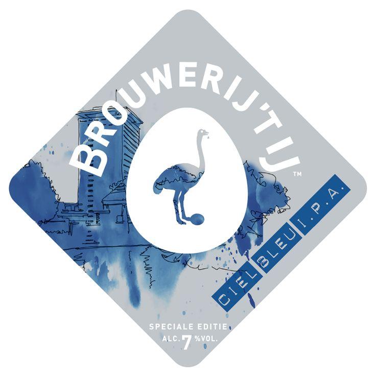 Brouwerij 't IJ 'Ciel Bleu IPA'