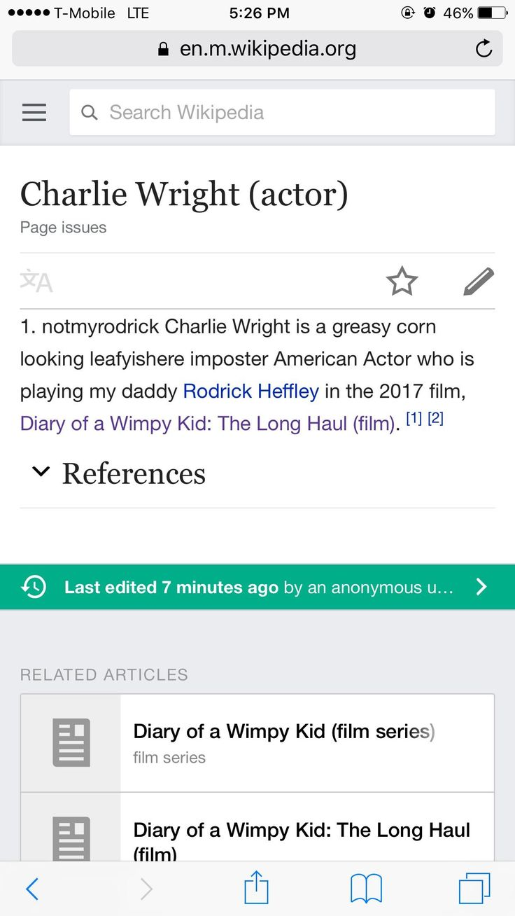 Wikipedia article for the new Roderick Heffley in the new Diary of a Wimpy Kid movie.