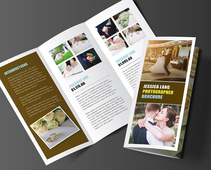 "Tri-fold Brochure Template - ""Bella"""