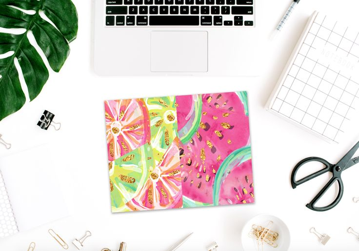 Summer Punch *Digital* Dashboard - Printable Pocket Size – Stylish Planners
