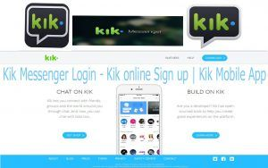 Kik Messenger Login - Kik online Sign up | Kik Mobile App