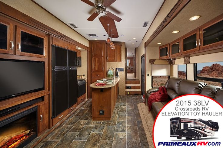 2015 elevation interior living room pretty sweet aye - Toy haulers with front living room ...