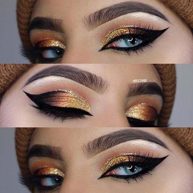 Pin By Syeda Ayal Zahra On Makeup Cat Eye Makeup Eye Makeup Techniques Dramatic Eye Makeup