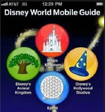 Disney world mobile guide #technology #mobileapp