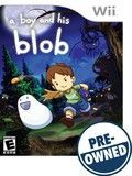 A Boy and His Blob — PRE-Owned - Nintendo Wii