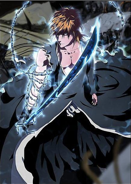 Final Battle Ichigo Vs Aizen Round #1