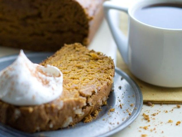 Brown Sugar and Ginger Pumpkin Bread