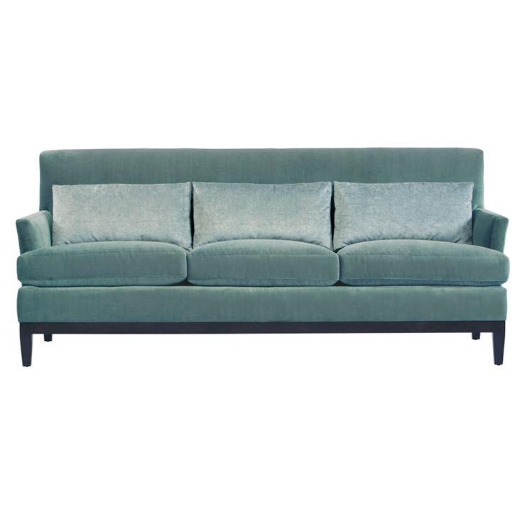 Bernhardt. Cumberland Sofa in soft blue