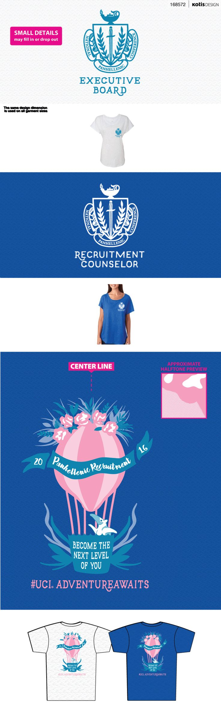 168572 - UCI Panhellenic | Rho Gamma Shirts '16 - View Proof - Kotis Design