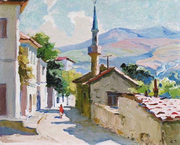 Яровой Степан Калинович (1913 – 1988) «Утро в Бахчисарае», 1972 г.