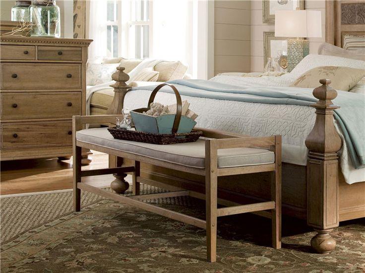 Universal Furniture | Paula Deen Down Home Bed Bench