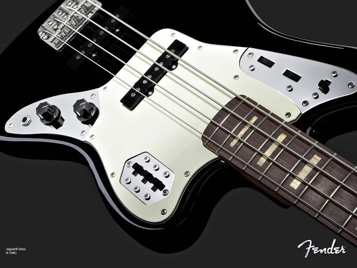 Fender Jaguar Bass Guitar ..
