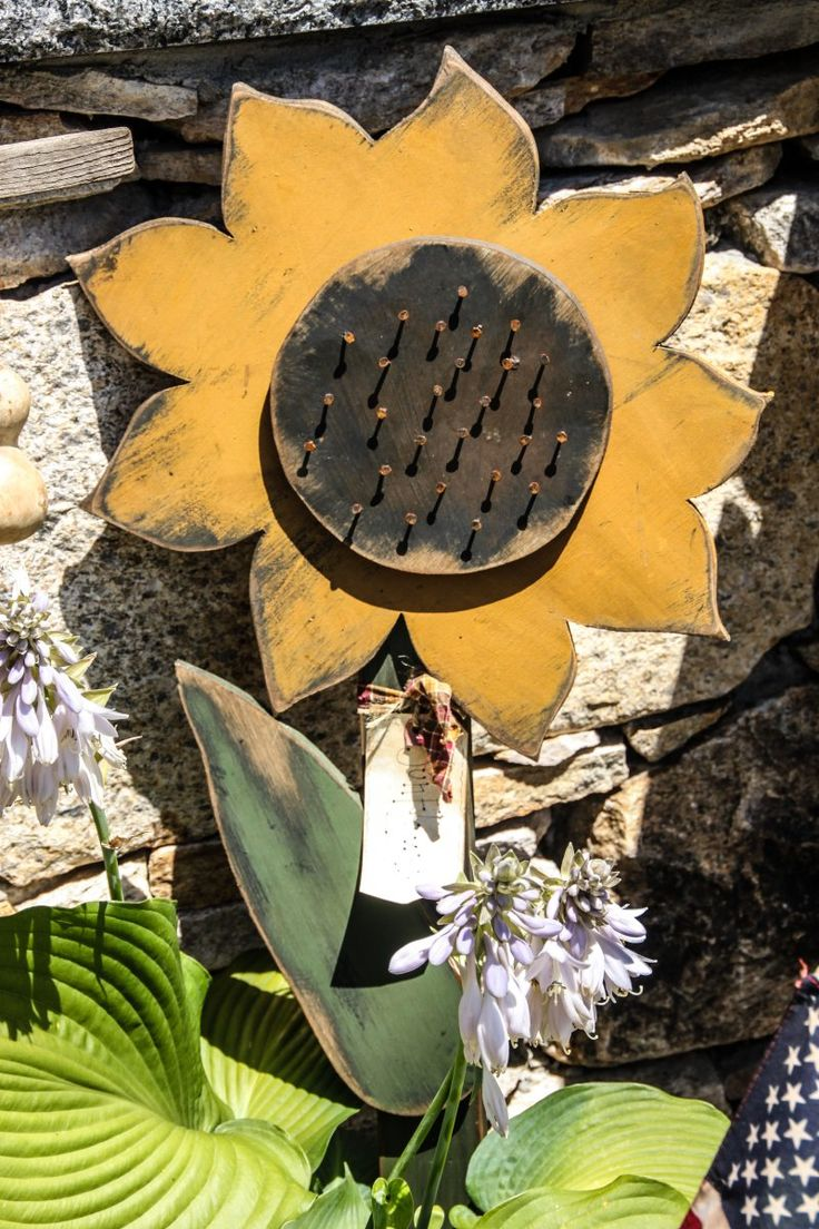 Primitive fall wood crafts - Fall Wood Sunflower Here S One For Linda Get Bill On This In Time