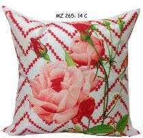 Mezzo Floral painted cushion cover MZ 265- 15C