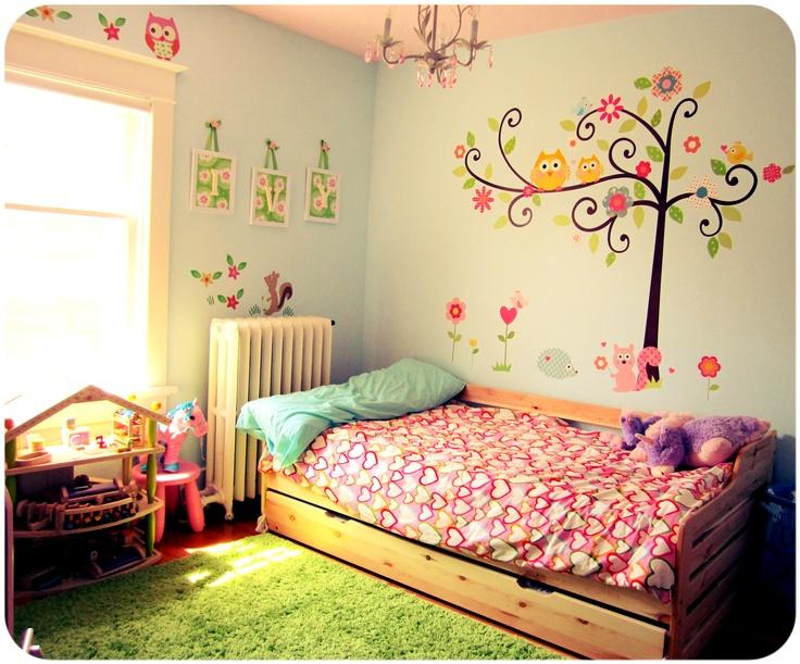 73 Best Children S Bedroom Ideas Images On Pinterest: 17 Best Images About Woodland Animals Children's Bedroom