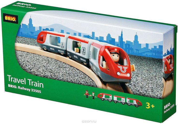 Купить Brio Пассажирский поезд-экспресс - детские товары Brio в…