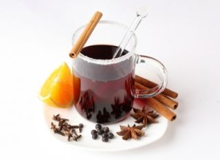 Vin chaud aux épices #recettesduqc #boisson #alcool