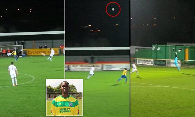 Is that an assist for Barney? Footballer scores incredible own goal