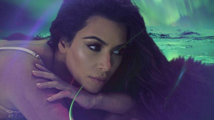 Watch Kim Kardashian West Make Her Ethereal 'LOVE' Advent Calendar Debut #thatdope #sneakers #luxury #dope #fashion #trending