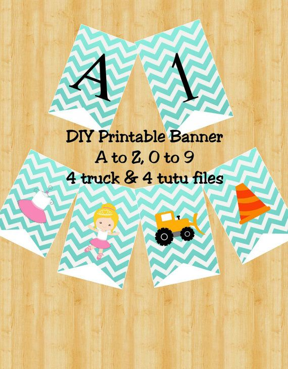 Check out this item in my Etsy shop https://www.etsy.com/listing/245237093/trucks-and-tutus-banner-sibling-party