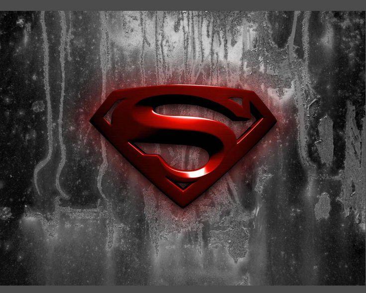 Logo comics superman wallpaper.
