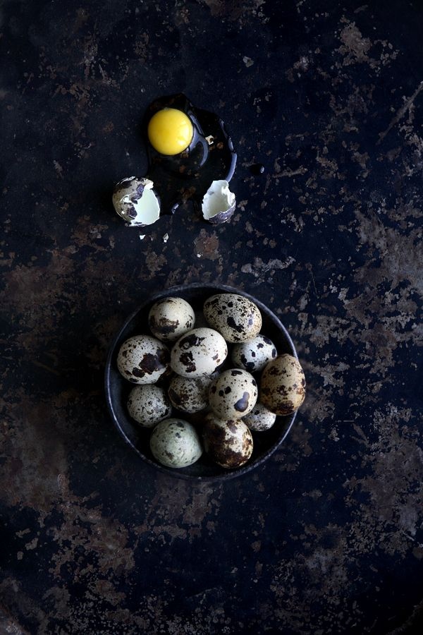 ♂ Still life food styling photography Rustic Easter lunch eggs