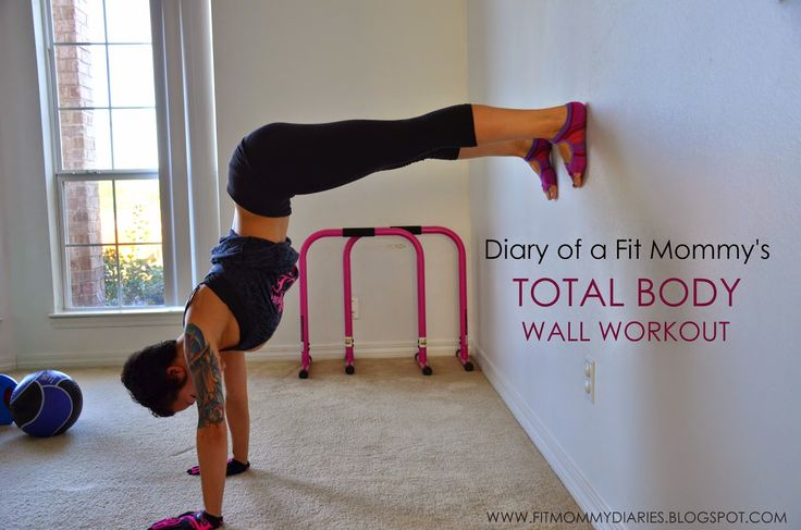 15 Minute Total Body Toning Wall Workout