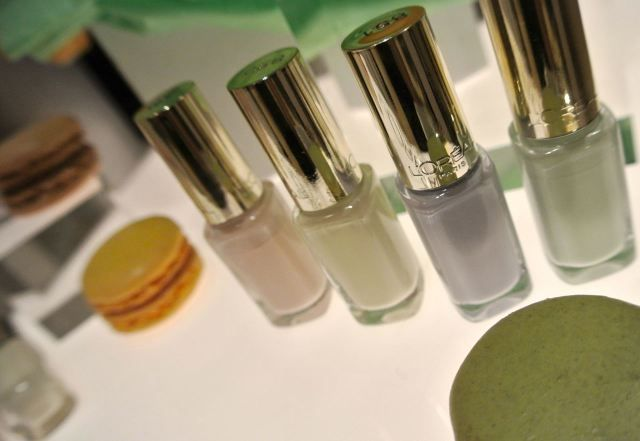 L'Oréal Color Riche Les Blancs nail polishes