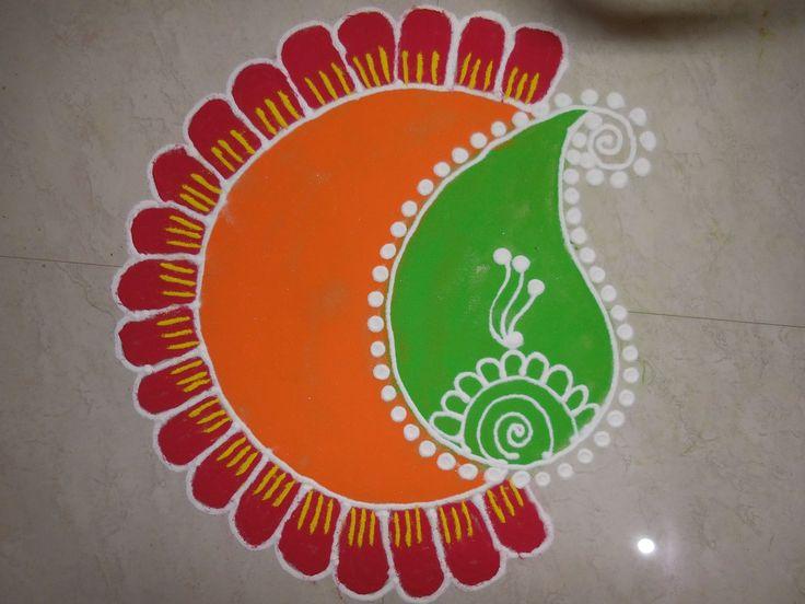 Diwali Special - Freehand Rangoli Design (NEW)