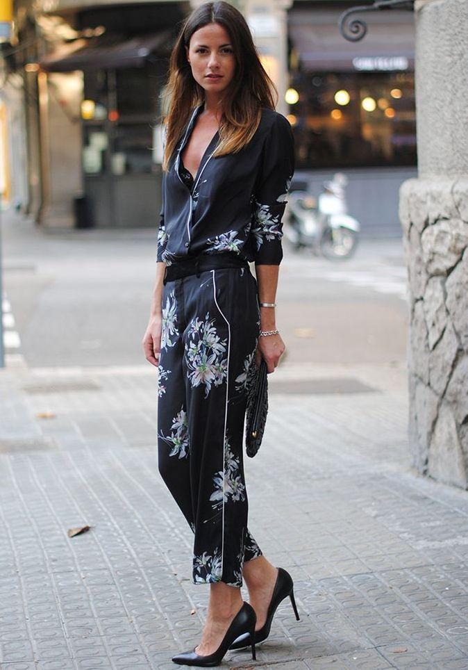 This is J   pjs all day   thisisj.com   Trend Alert: Silk Pyjama Tops