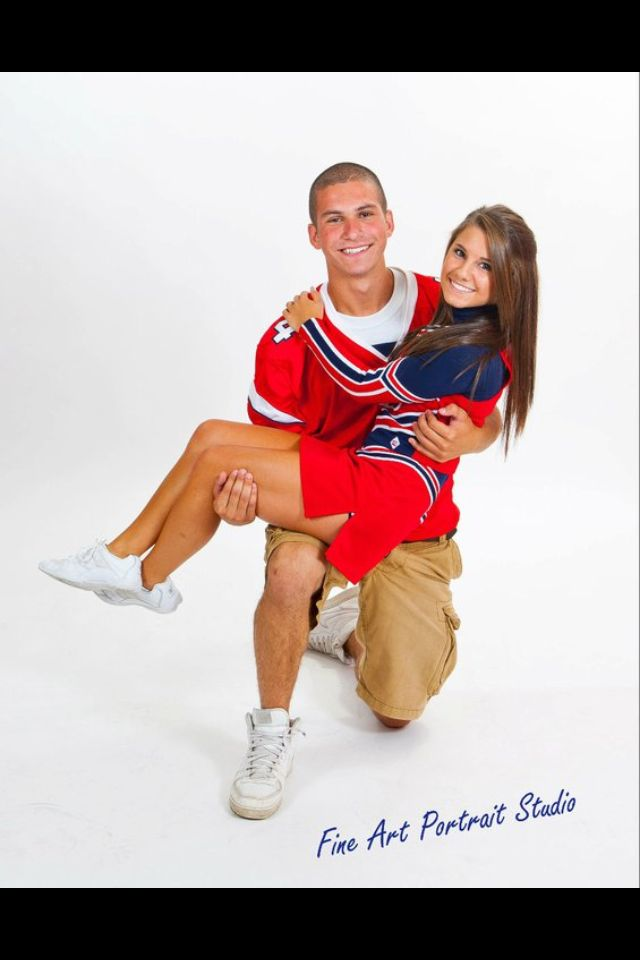 Perfect Couple - cheerleader and football player