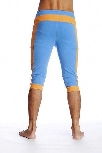 Cuffed Yoga Pants For Men Black Perfect 4 Yoga Pilates Tennis
