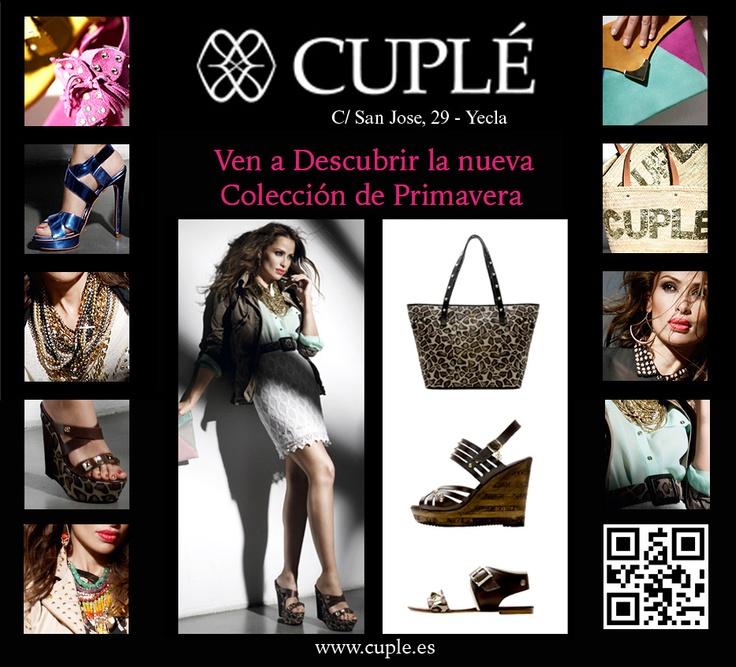 tu tienda Cuple en Yecla te presenta las nuevas tendencias de primavera que mejor te visten, ven y te aconsejamos !!!