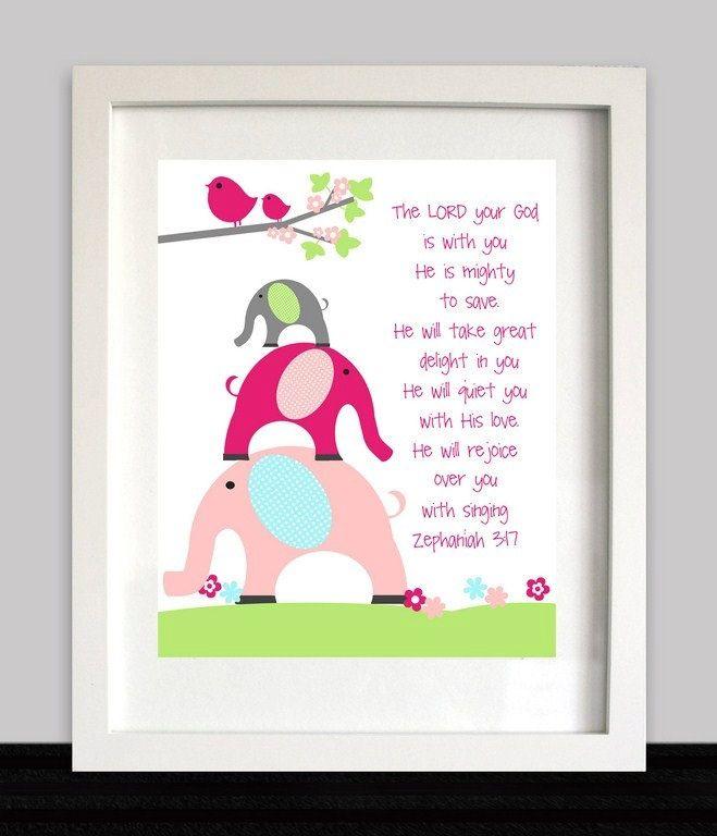 馃悩 Cute little elephants...and birdies :)