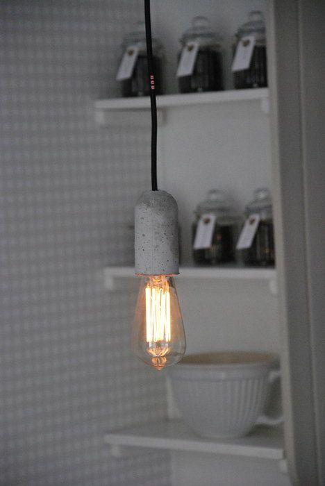 Ny kökslampa från NUD i betong.
